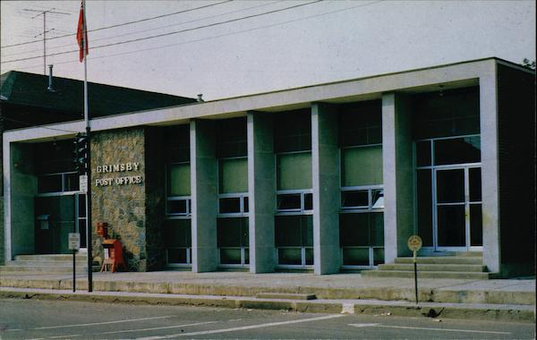 Post Office Grimsby Canada Ontario