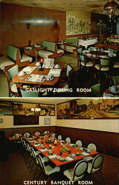 Gaslight Dining Room and Century Banquet Room - Jim's Restaurant and Cocktail Lounge Lansing Michigan