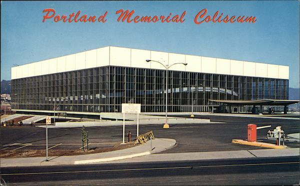 Memorial Coliseum Portland, OR