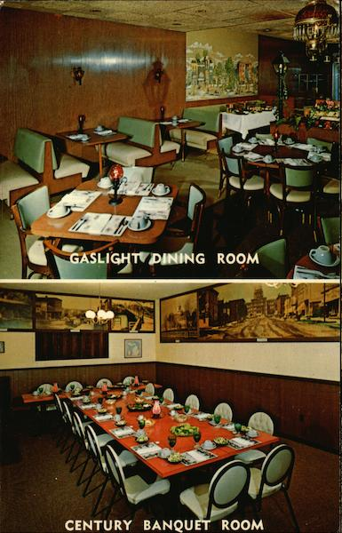 Gaslight and Century Banquet Rooms Lansing Michigan