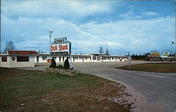 The Nor-Mad Motel Manistique Michigan