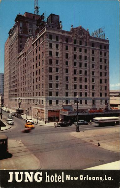 Hotels In New Orleans >> Jung Hotel New Orleans, LA