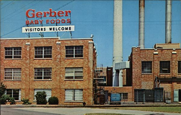Gerber Baby Food Products Plant Fremont Mi