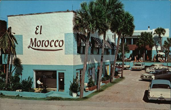 El Morocco Beach Motel Daytona Beach Florida