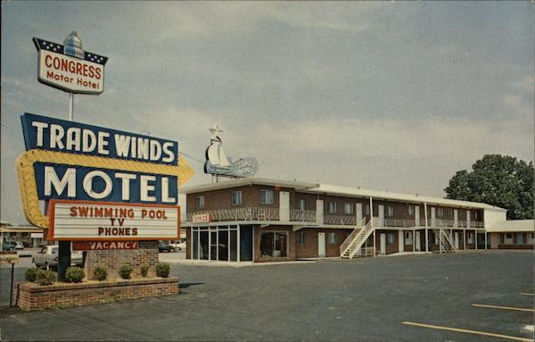 Congress Trade Winds Motel Chattanooga Tennessee
