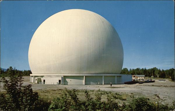 Bell Telephone System's Earth Station Andover Maine