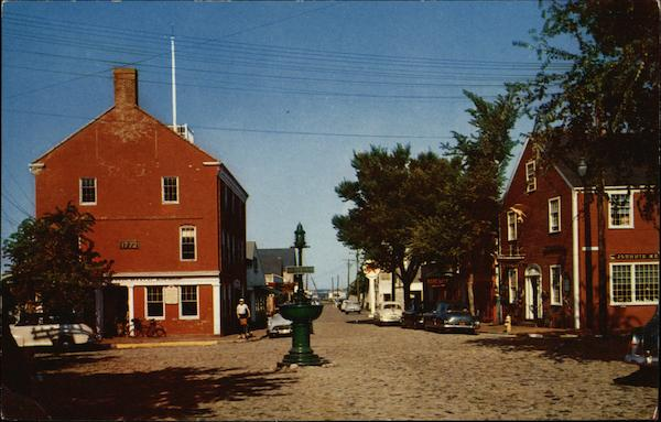 Lower Main Street Nantucket Massachusetts