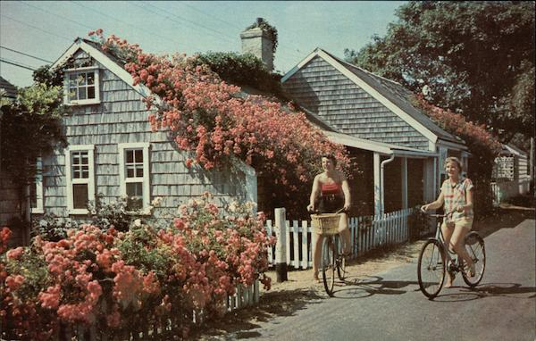 A Nantucket Cottage on the Quaint and Historic Island called The Lady of the Sea Massachusetts
