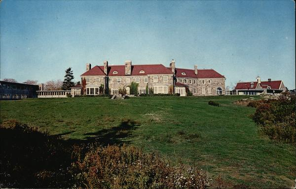 Eastern Point Retreat House - Gonzaga Hall East Gloucester Massachusetts
