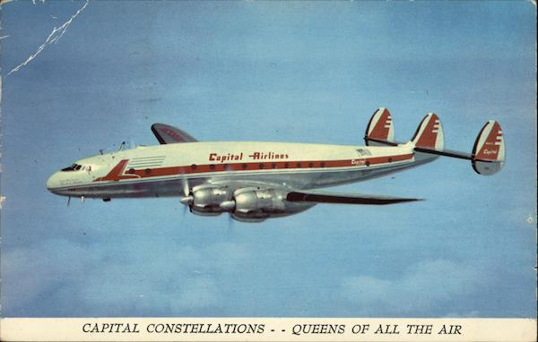 Capital Airlines - Constellation Aircraft