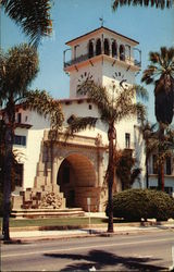 Santa Barbara County Courthouse - The Tower