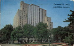 The Laurentian Hotel Postcard