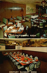 Gaslight Dining Room and Century Banquet Room - Jim's Restaurant and Cocktail Lounge