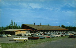 Canyon Village - Canyon Lodge Administration Building and Main Lodge