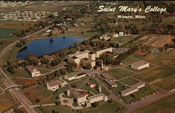 Saint Mary's College Postcard