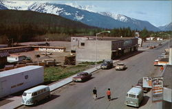 Start of the Haines Cutoff to the Alaska Highway Postcard