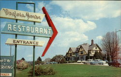 Virginia House Restaurant Postcard