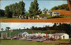 Kelley's Motor Court and Restaurant Postcard