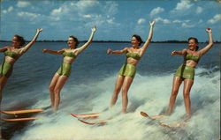 Water Skiing Display at Cypress Gardens