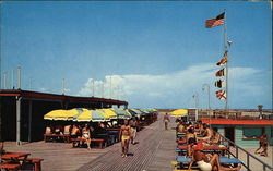 The Boardwalk, Stewart Beach Postcard