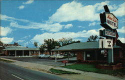 Mona Lisa Motel & Restaurant Postcard