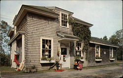 The Santa Claus Shop Postcard