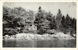 Hiram Blake's Camp on Penobscot Bay