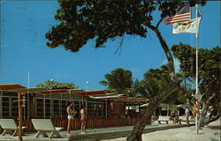 Bluebeard's Beach Hotel Postcard
