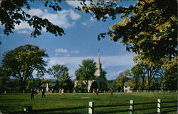 View of Common and Church