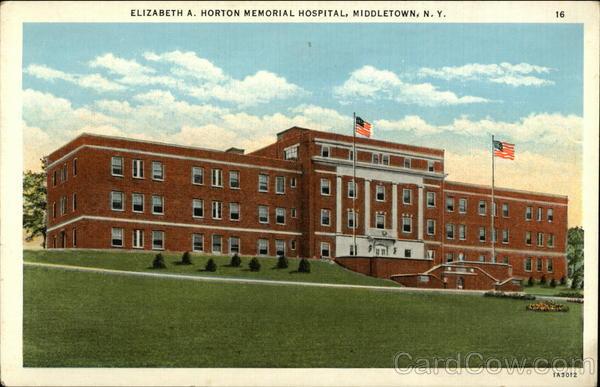 Elizabeth A Horton Memorial Hospital Middletown Ny