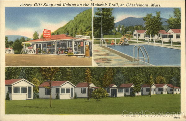 Arrow Gift Shop and Cabins on the Mohawk Trail Charlemont Massachusetts