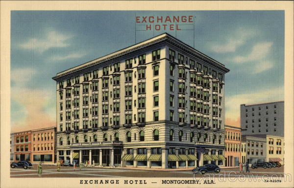exchange hotel montgomery al. Black Bedroom Furniture Sets. Home Design Ideas