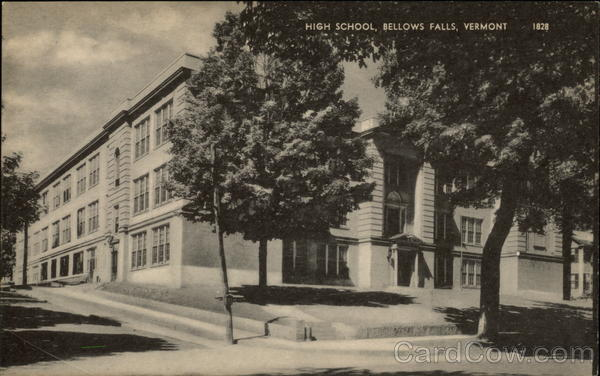 High School Bellows Falls Vermont