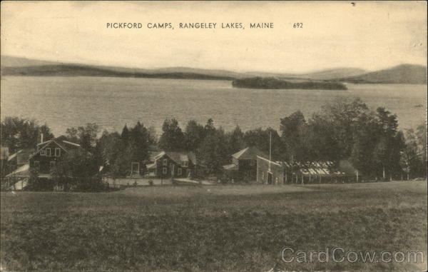 Pickford Camps Rangeley Lakes Maine