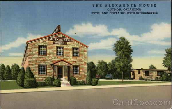 The Alexander House Guymon Oklahoma