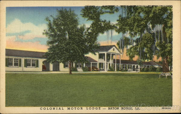 Colonial Motor Lodge Baton Rouge Louisiana