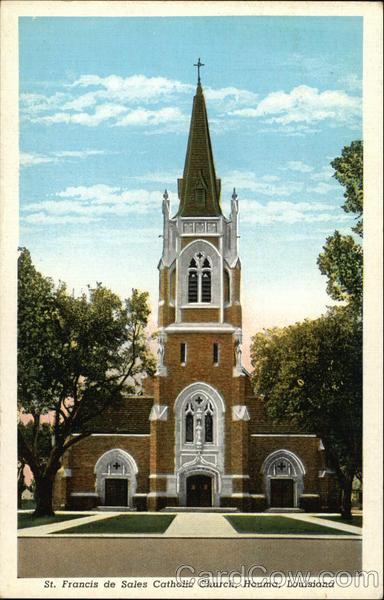 St. Francis de Sales Catholic Church Houma Louisiana