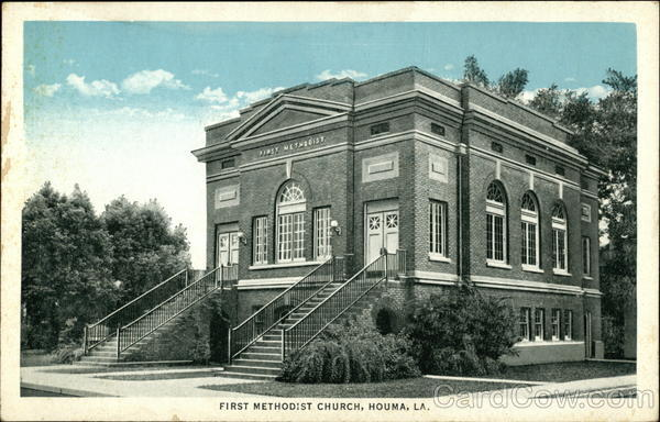 First Methodist Church Houma Louisiana