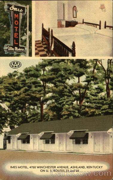 Imes Motel Ashland Kentucky