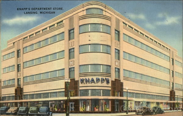 Knapp's Department Store Lansing Michigan