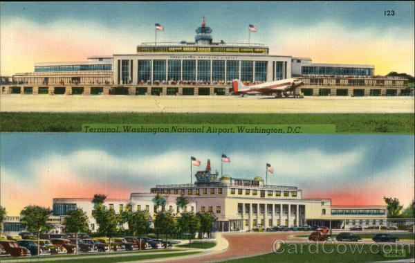 Terminal, Washington National Airport District of Columbia