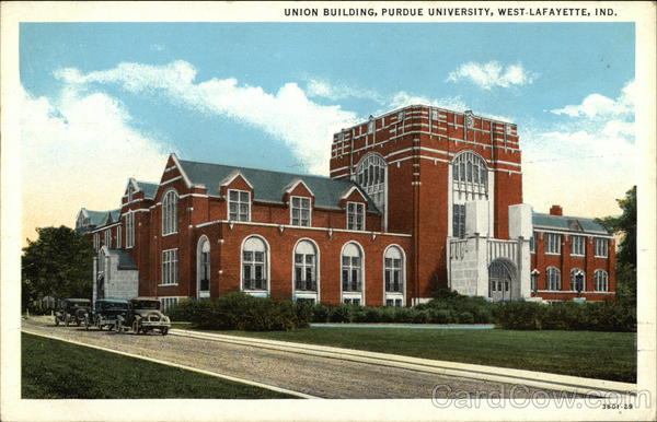 Purdue University - Union Building West Lafayette Indiana