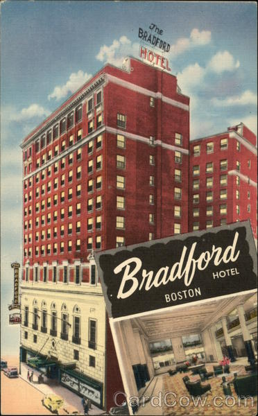 Hotel Bradford Boston Massachusetts