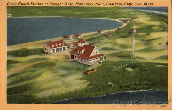 Coast Guard Station at Powder Hole, Monomoy Point Chatham Massachusetts