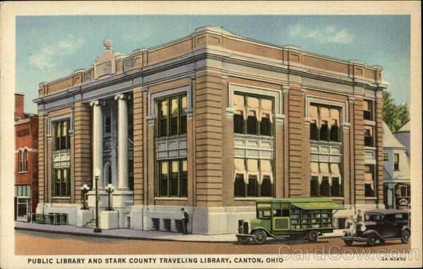 Public Library and Stark County Traveling Library Canton Ohio