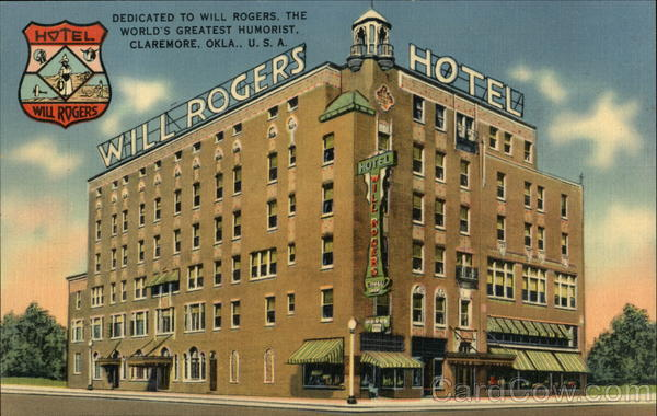 Hotel Will Rogers Claremore Oklahoma
