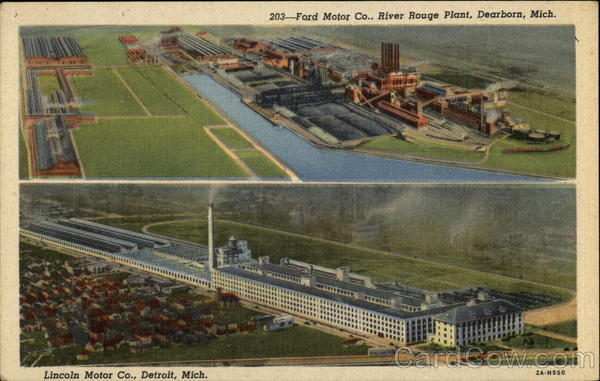 Ford Motor Co River Rouge Plant Dearborn Mich