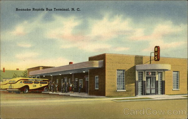 Roanoke Rapids Bus Terminal North Carolina