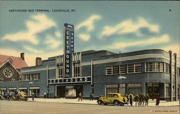Greyhound Bus Terminal Louisville Kentucky