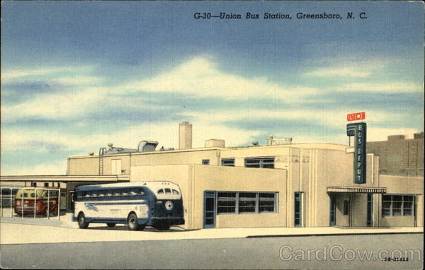 Union Bus Station Greensboro North Carolina Buses
